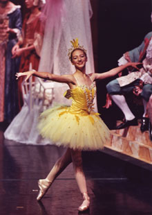 Ilona Pociunas as Fairy of the Songbirds