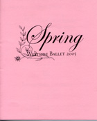 Cover, Spring 2005