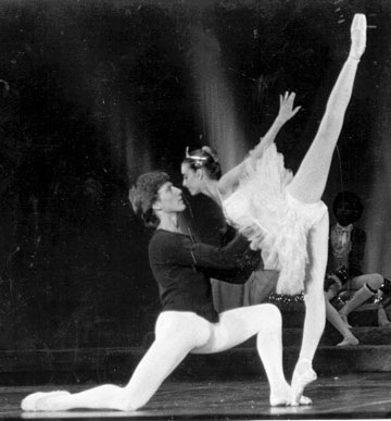 Sven Toorvald with Martine Harley