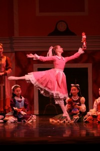 Clara with Nutcracker