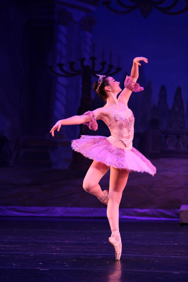 Lucia Connolly as the Sugar Plum Fairy