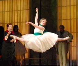 Lyrica Blankfein in Susan Stroman's Little Dancer
